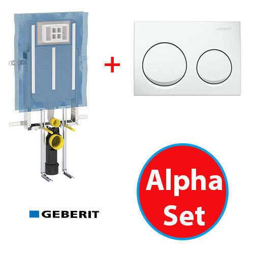 Geberit Alpha Set-Beyaz
